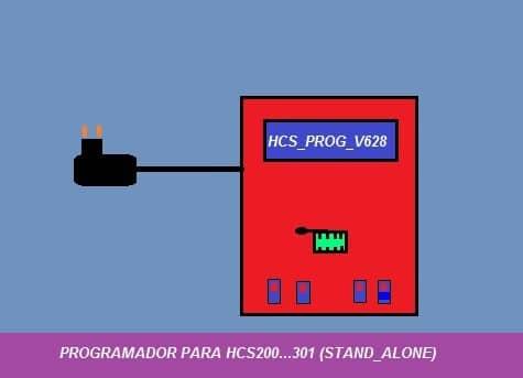 HCS_PROG_V628 –  MAIS UMA OPÇÃO PARA PROGRAMAR HCS200…301 COM PIC 16F628A
