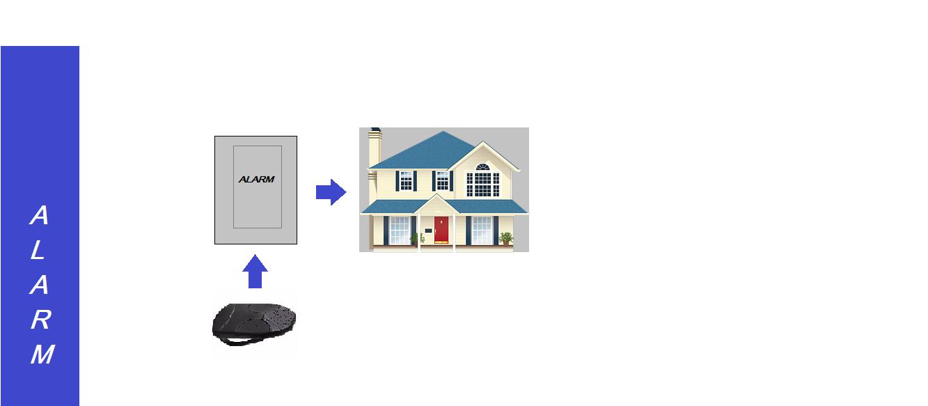 FAÇA UM SIMPLES ALARME RESIDENCIAL  – COM CONTROLE REMOTO RF  E PIC 12F675 (REF128)