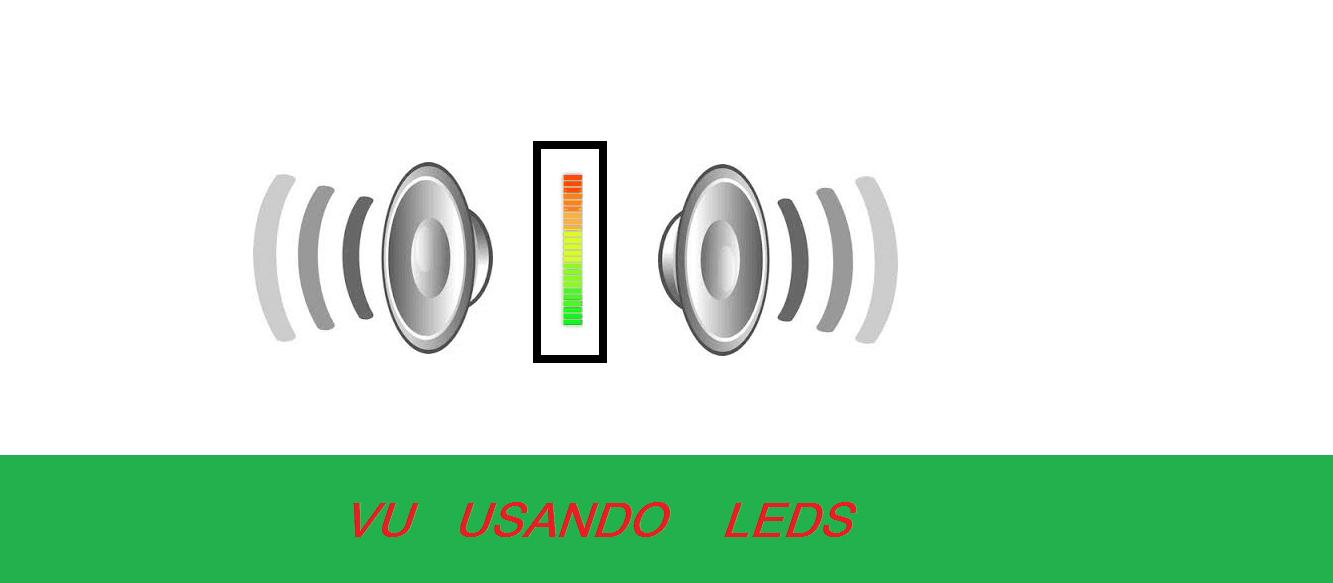 FAÇA UM INDICADOR DE NÍVEIS DE TENSÃO (VU) COM 12 LEDS (BARRA OU PONTO) – C/ PIC 12F675 (REF149)