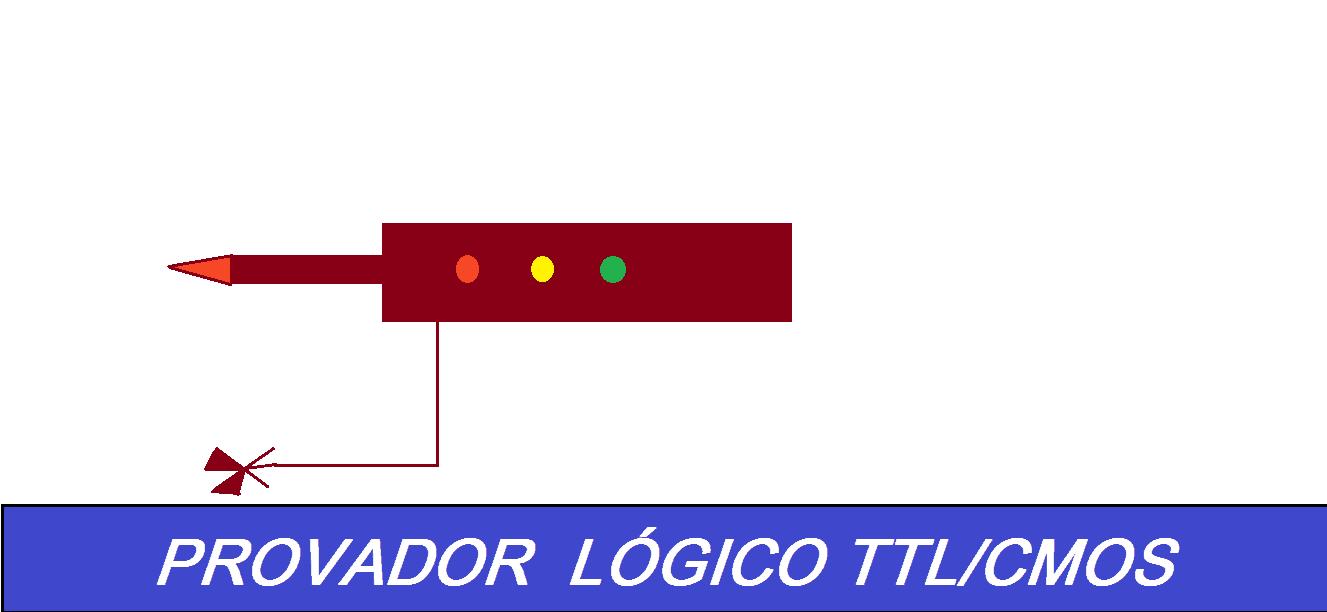 PROVADOR LÓGICO TTL/CMOS – COM PIC 12F675 (REF169)