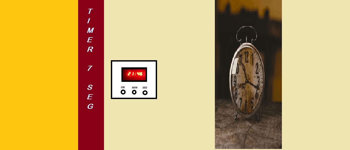 FAÇA UM TIMER PROGRAMÁVEL – COM PIC 16F628A E DISPLAYS  DE 7 SEGUIMENTOS (REF189)