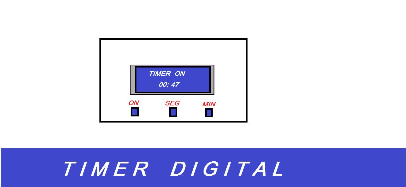 FAÇA UM TIMER PROGRAMÁVEL – COM PIC 16F628A E DISPLAY LCD 16X2 (REF188)