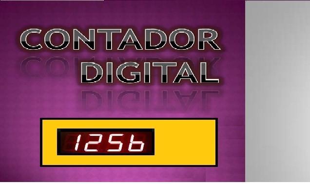 CONTADOR DIGITAL UP/DOWN – COM PIC 16F628A (REF308)