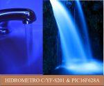 HIDRÔMETRO EXPERIMENTAL COM YF-S201 E PIC 16F628A (REF320)