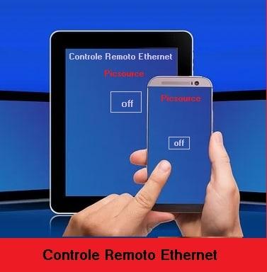 CONTROLE REMOTO WEB (ETHERNET) C/ 7 CANAIS ON/OFF – C/ ARDUINO NANO E ENC28J60 (REF333)