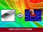 SIMULADOR E TESTE P/ BS808B -C/ PIC 16F628A (REF334)