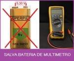 SALVA  BATERIA DE MULTÍMETRO – C/ PIC 12F675 (REF340)