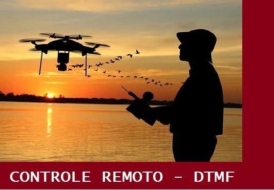 CONTROLE REMOTO DE 8 CANAIS (DTMF) – C/ PIC 16F676 (REF349)