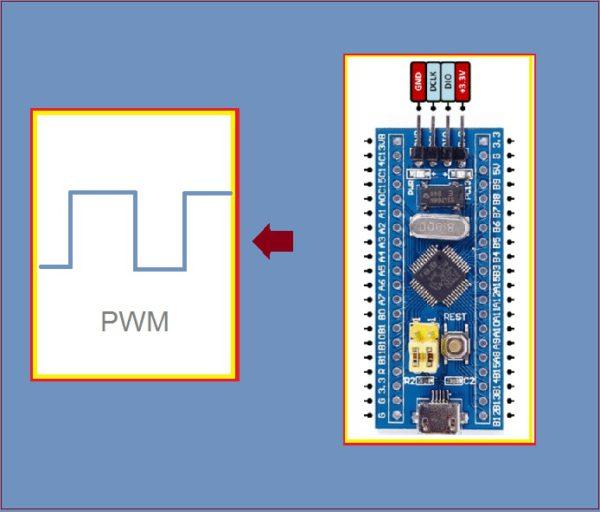CONTROLE DE VELOCIDADE P/ MOTOR DC (PWM) – C/ BLUE PILL (REF356)